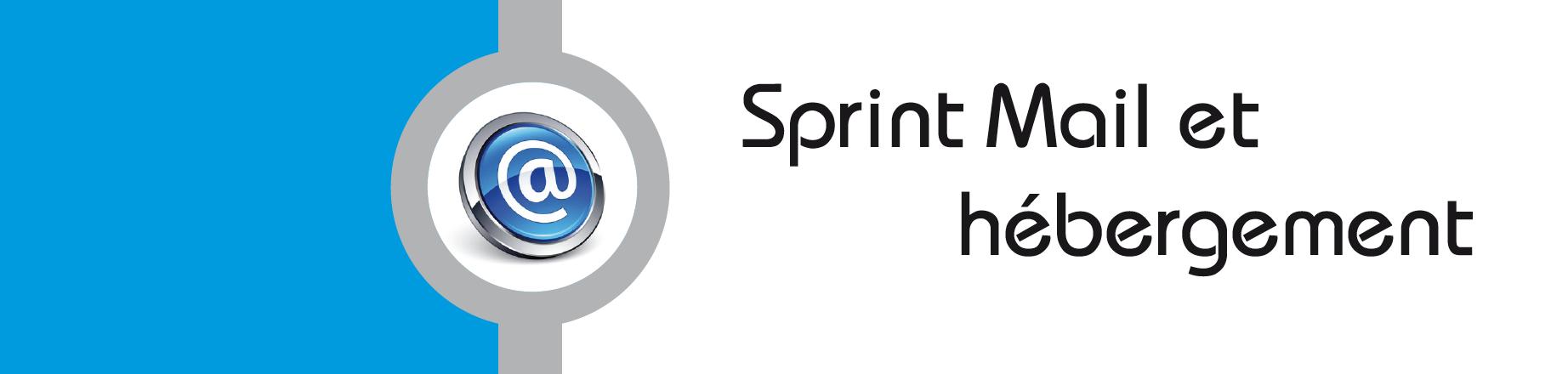 Sprint Mail et hebergement
